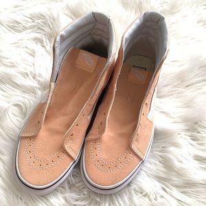 Vans Peach High Top Sneakers